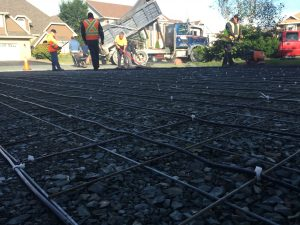 Snow Melting - Hott-Wire Asphalt Hot Pour 01