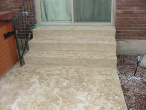 Snow Melting - Retrofit - Stairs with coating