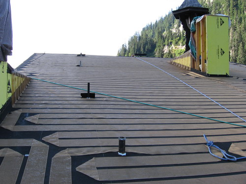 Invizible Roof Deicing Heatizon Systems