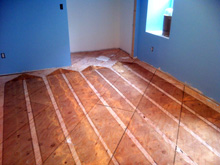 Heating Carpet Floors with Radiant Heat