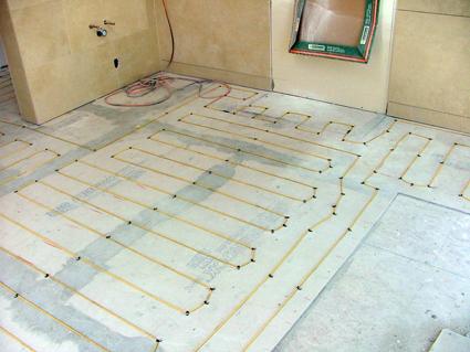 bathrooms & kitchens - radiant heating kits - heatizon systems