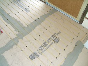 Tuff Cable Space Heating - Backerboard Subfloor