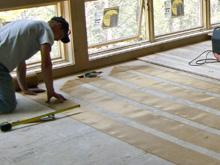 Heating Hardwood Floors with Radiant Heat
