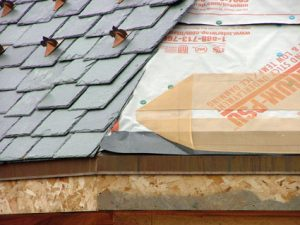 Roof Deicing - ZMesh Invisible under slate shingles