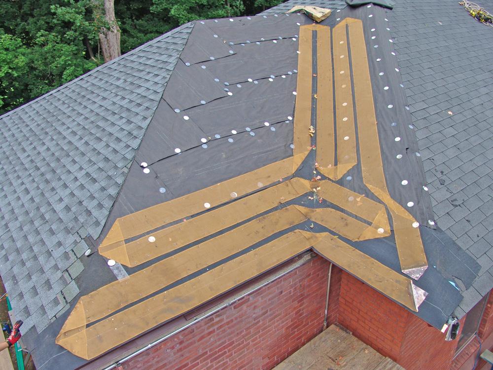 Heatizon Distributors - ZMesh on roof