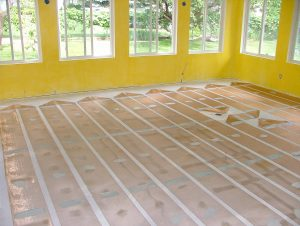 ZMesh Space Heating - Concrete Subfloor