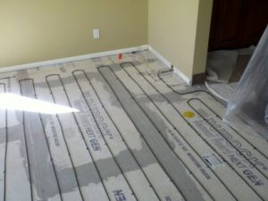 Cozy Heat Space Heating - Backerboard Subfloor