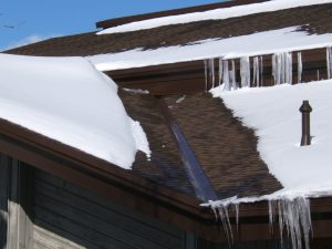 Roof Deicing -Water/Snow Control