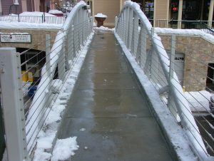 Snow Melting - Concrete Elevated Walkway