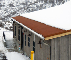 Invizimelt Deicing/Snow Control - Metal Roof