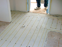 Heating Stone and Tile Floors with Radiant Heat