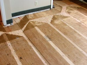 ZMesh Space Heating - Wood Subfloor