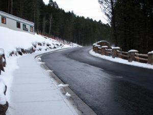 Snow Melting - Hott-Wire Asphalt Driveway