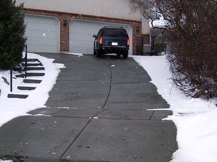 Snow Melting Concrete Heatizon Systems