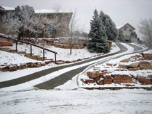 Retrofit Heated Driveway Snow Melting Systems