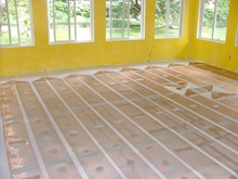 Floor Heating - Laminate (floating)