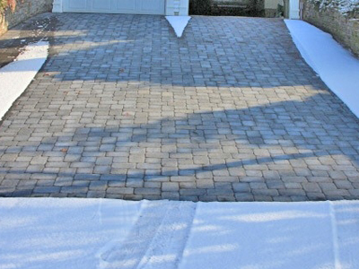 Heatizon Pavers, Stone & Tile Snow Melt Application