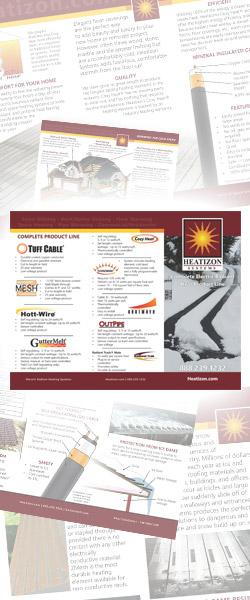 Heatizon Brochures