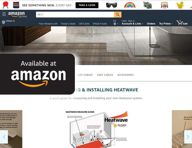 Heatwave Amazon Store